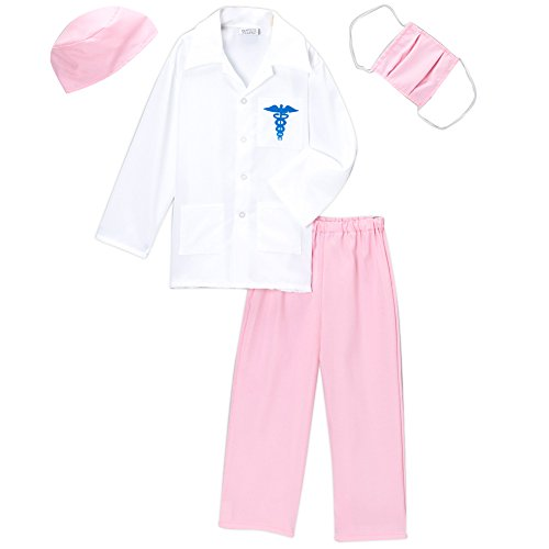 Pink Doctor Deluxe Costume Set (Choose Size)