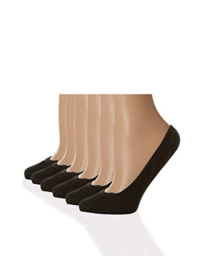 DIM Pack x 6 Calcetines Invisibles  Oro