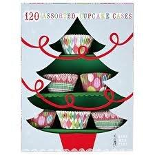 Varios Mini de envoltorios para cupcakes de Navidad