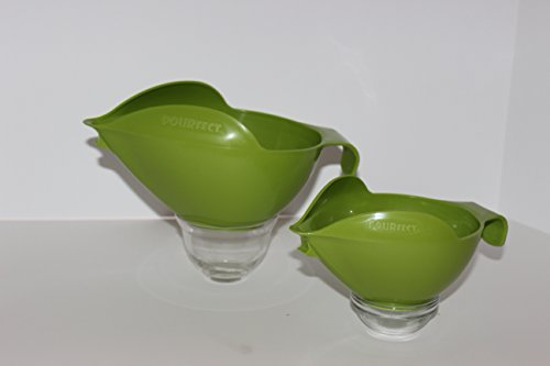 Pourfect Mixing Bowls 1005 3Pc Prep Set, 1-2-4 Cup, Green Apple front-137927