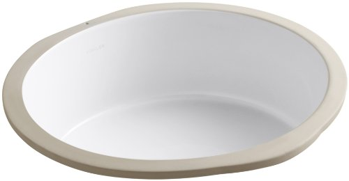Best Price KOHLER K-2883-0 Verticyl Round Undercounter Bathroom Sink, White