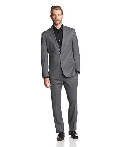 Kenneth Cole New York Men's Two Button Notch Lapel Suit