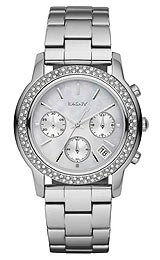 DKNY Glitz Mother-of-Pearl Dial Women's Watch #NY8351