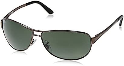 Ray-Ban Aviator Sunglasses (Gunmetal) (RB3342|004/5860)