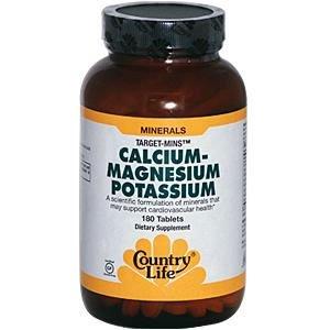 Country Life Cal-Mag-Potassium Target-Mins