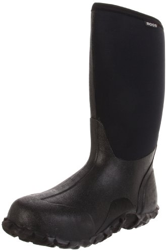 Bogs Men's Classic High Boot,Black,11 M US