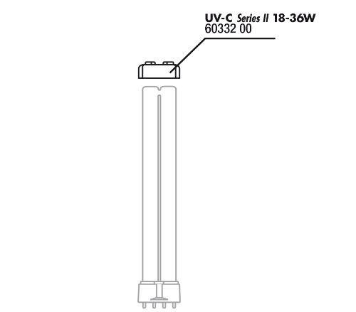 JBL Gummilager für UV-C Lampe 18 u.36W
