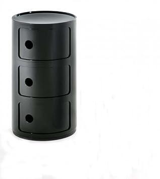Kartell Componibili{3} elementos, negro