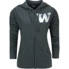 Buy Washington Huskies College Concepts NCAA Ladies Centennial Jacket by College Concepts
