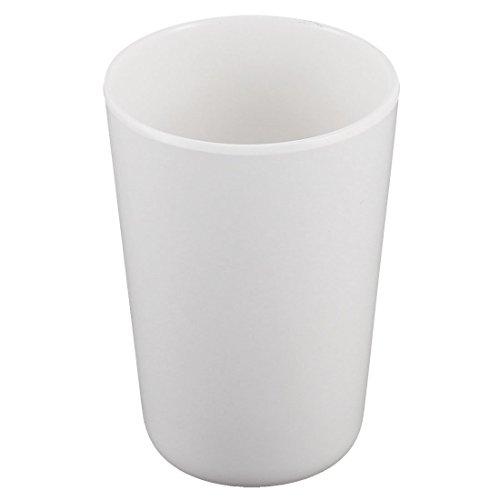 Boire Plastique Boissons Cuisine Tumbler eau Coupe 11cm Hauteur Blanc