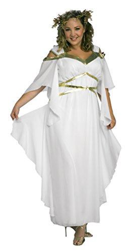 Rubies Womens Roman Goddess White Theme Party Fancy Dress Halloween Costume