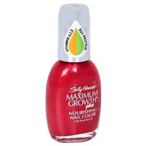 Amazon Com Sally Hansen Maximum Growth Plus Nourishing Nail Color Baby Doll 36 Nail Polish