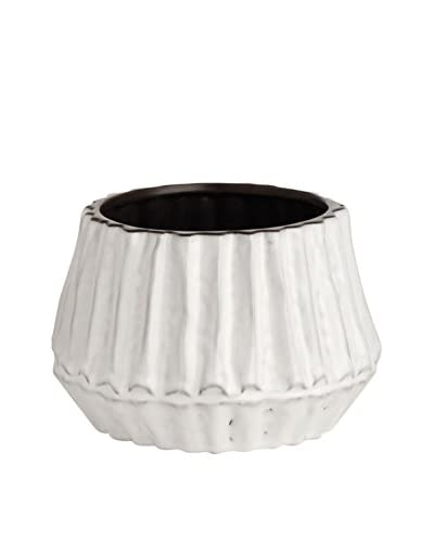 Napa Home & Garden Large Guild Cachepot, White