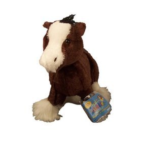 Webkinz Clydesdale with Trading Cards