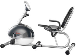 Magnetic Recumbent Bike Frictionless Stationary Recumbent Bicycle