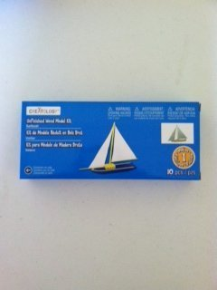 Wood Model Kit (Sailboat) - 1