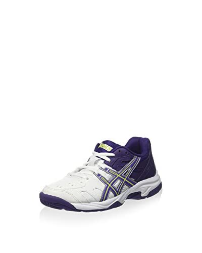 Asics Zapatillas Gel-Game 4 Gs Blanco / Morado
