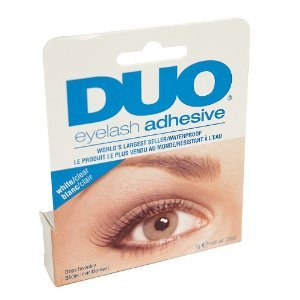Duo Lash Adhesive - Clear, 0.25-Ounce (Pack of 2)