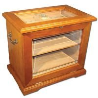 Image of End Table Humidor - Hold up to 500 cigars. (B003FRB2G6)