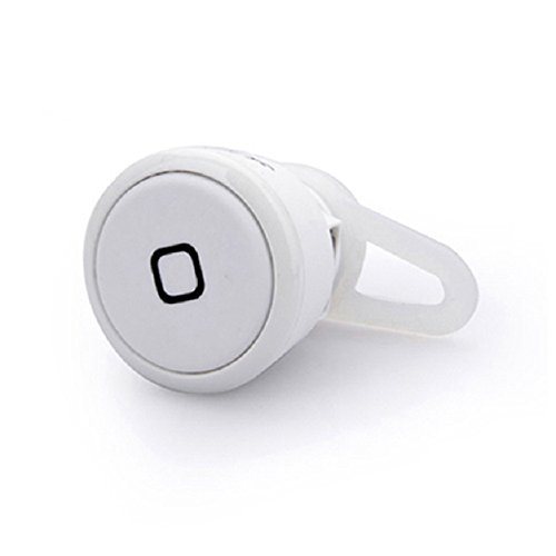 Tonsee(Tm) 1Pc Mini Bluetooth Stereo Headset Earphone For Cell Phone Iphone Samsung (White)