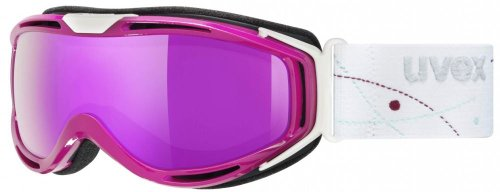 Uvex hypersonic blackberry/litemirror pink, one size