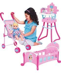 My First Disney Baby Princess Cinderella Doll Amp Stroller