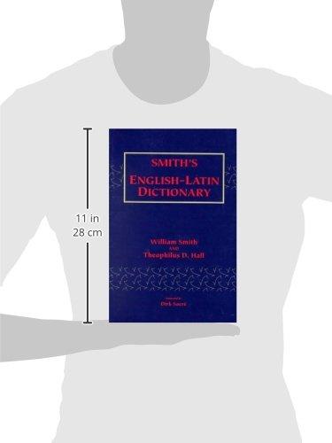 Smith's English-Latin Dictionary