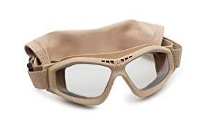 Revision Military Bullet Ant Tactical Goggle Basic Clear - Tan