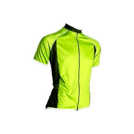 Canari Cyclewear 2013/14 Men's Endurance Short Sleeve Cycling Jersey - 12178 (Killer Yellow - M)