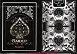 Raider Bicycle White Deck Playing Cards