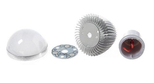 Lz-08 Gu10 3W 3-Led Diy Light Bulb Host-Gu10, 3W, 3-Led - (Premium Quality)