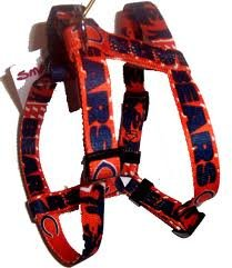 цена на Hunter MFG 1-Inch Chicago Bears Adjustable Harness, Large