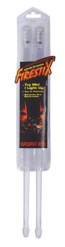 baguettes de batterie lumineuse firestix rouge batteries et percussions. Black Bedroom Furniture Sets. Home Design Ideas