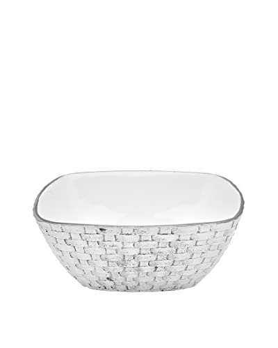 Godinger White Weave Large Bowl