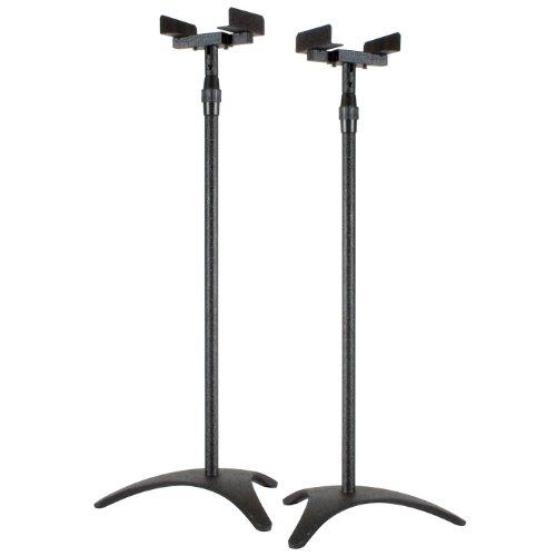 Dayton Audio Ss-Sat Satellite Speaker Stand - Pair (Black)