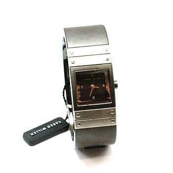 Karen Millen Gun Metal Ladies Bangle Watch - K033