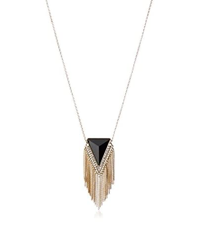 Fragments Triangle Tassel Necklace As You See