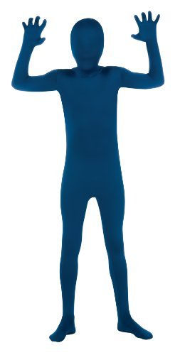 Blue 2nd Skin Suit Kids Costume
