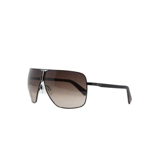 Just Cavalli Jc 507 01F Black Oversized Aviator Sunglasses