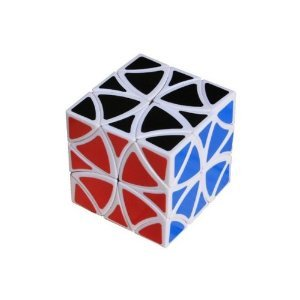 Curvy Copter Puzzle Cube White