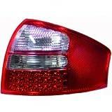 in.pro. 1024995 HD R�ckleuchten LED Kristall Audi A6 Limousine 97-04, rot - wei�