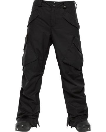 Burton Filson X Burton Hellbrook Pant - Color:Black Oil Cloth - Talla:L - 2014