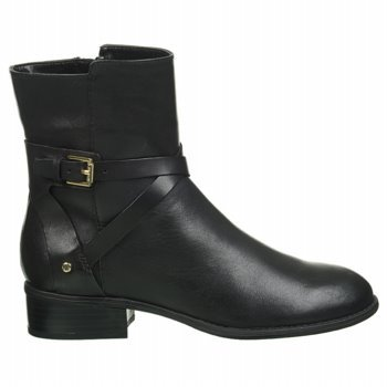 Lauren Ralph Lauren Women'S Marisol Boot (Black Leather 5.5 B)