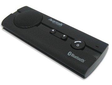 Bluetooth Handsfree Car Kit For Samsung Galaxy S4/ S Iv/ S 4/ I9500/ I9505/ L720/ I337/ I545/ M919/ R970 - Black + Cell Phone Anti Radiation Shield