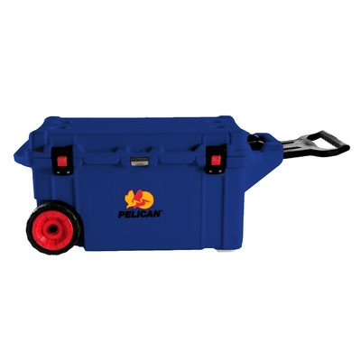 80 Qt. Wheeled Rotomolded Cooler Color: Dark Blue (80 Qt Cooler Pelican compare prices)