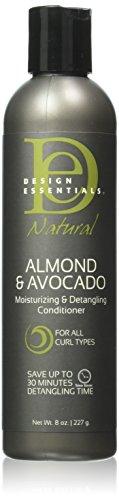 Design Essentials Moisturizing and Detangling Conditioner, Almond/Avocado, 8 Ounce (Essential Conditioner compare prices)