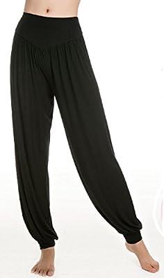 Izacu Super Soft Modal Spandex Harem Yoga/ Pilates Pants