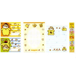 Pom Pom Purin Letter Set ( Japan Import )