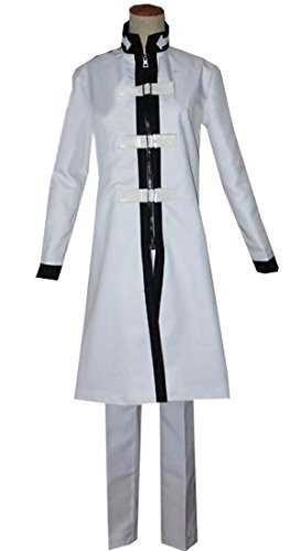 Cosenter Anime Fairy Tail Jellal White Cosplay Costume