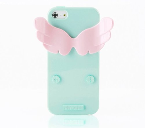 Special Sale [stre-it! Helsinki] NEW'Angel-it!' Apple Jelly Case (TPU) for Apple iPhone 5